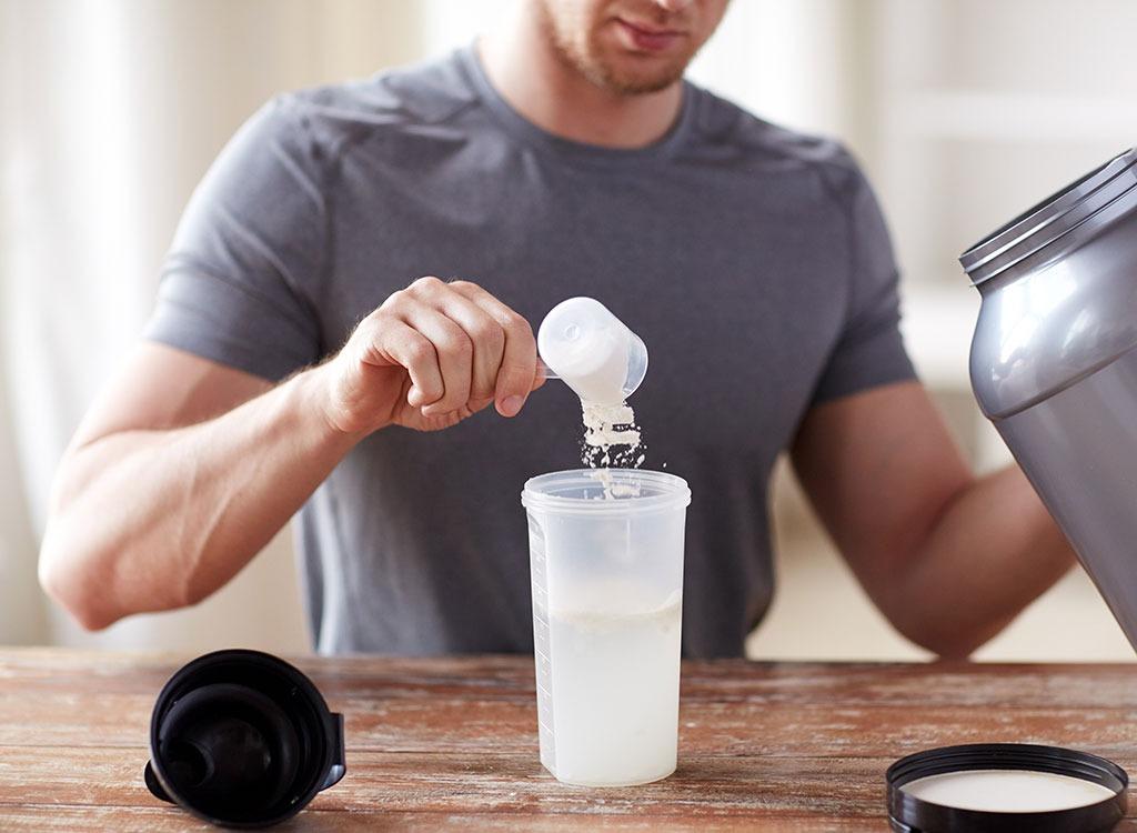 protein powder nutritional supplement