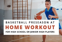 Basketball Preseason Workout