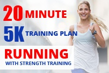 20 minute 5k workout