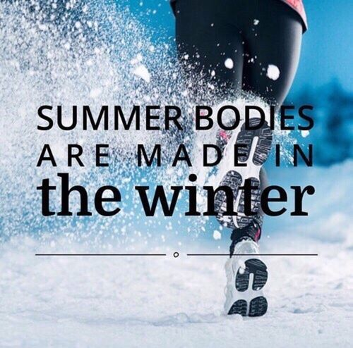 summer bodies made in winter
